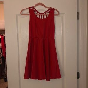 Cute Red Party Dress